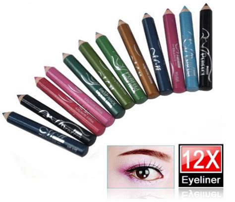Sariayu Color Trend 2015 Eyeliner Pencil Papua 01 eyeliner and glitter mineral eyeshadows 12 colors each and inexpensive gift us77