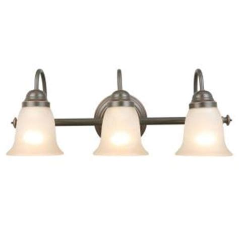 hton bay stained glass ceiling fan hton bay springston 3 light rubbed bronze vanity