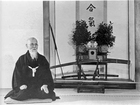 Fotos de O-Sensei Morihei Ueshiba – Insbrai – Instituto ... O Sensei Morihei Ueshiba