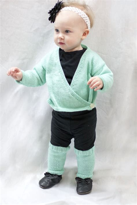 ballet cardigan knitting pattern child free baby ballet wrap and legwarmers knitting bee