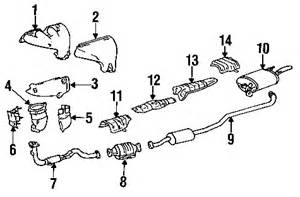 2001 Toyota Corolla Exhaust System Diagram Toyota Corolla Questions Diagram For A 1996 Toyota
