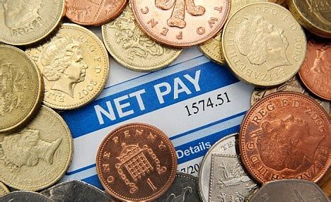 take home pay has fallen by more than 163 1 000 in two years