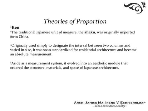 design definition of proportion 02 theories of proportion