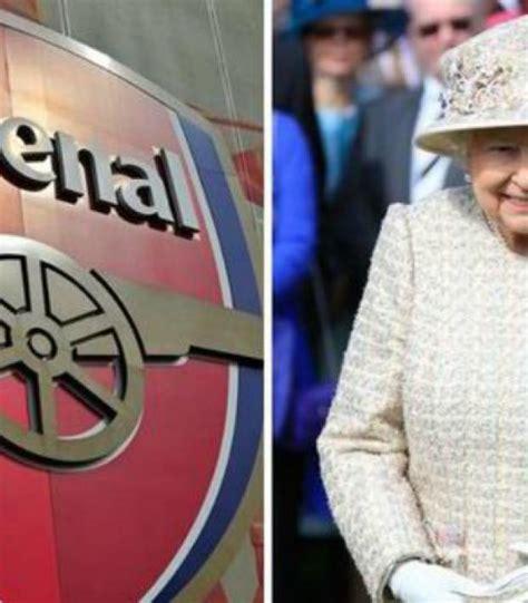 arsenal queen queen elizabeth ii is reportedly an arsenal fan
