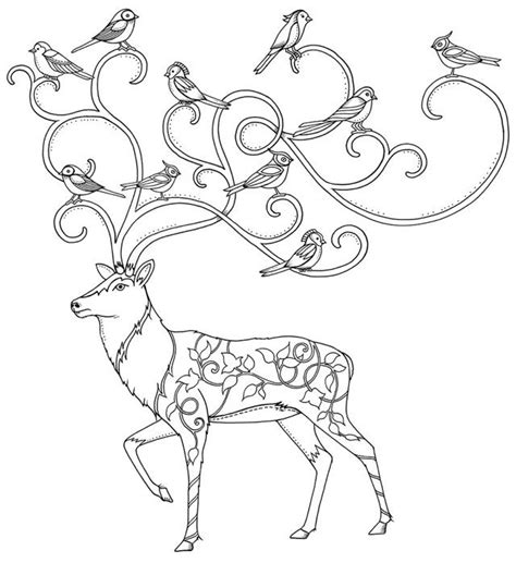 enchanted forest coloring page pdf potential mural from the enchanted forest book christmas