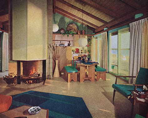 retro home interiors post war vintage from the 40s 50s 60s 70s 1963 house beautiful contemporary house