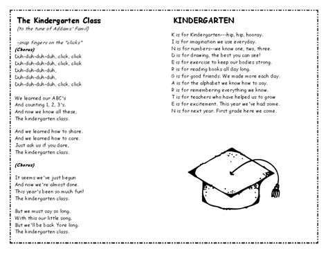find 1 song day of graduation kindergarten graduation ideas end of the year