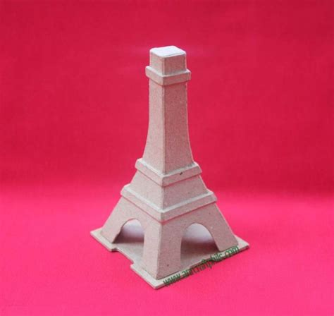 How To Make Paper Mache Ls - pm eiffel tower decor paper mache crafts products a