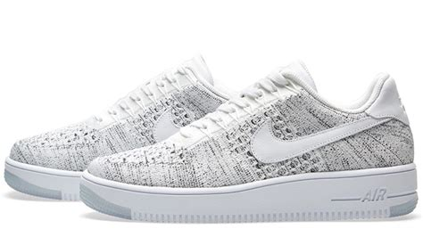 Nike Air 1 Flyknit Low White nike air 1 flyknit low white the sole supplier