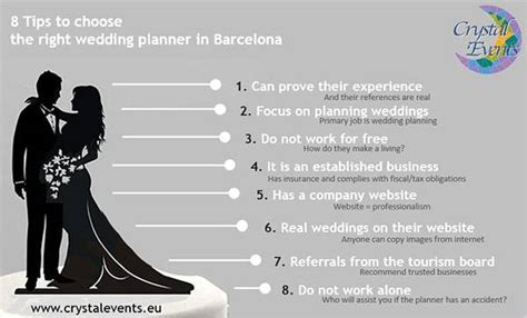 tip for wedding coordinator tips to choosing the right wedding planner in barcelona