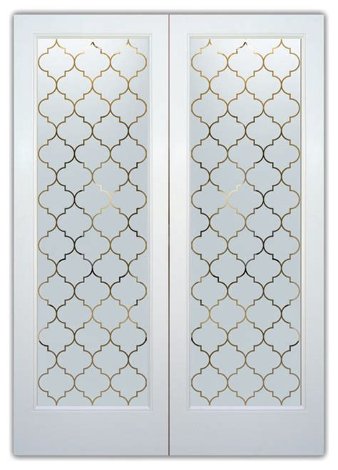 door pattern the gallery for gt frosted glass design patterns