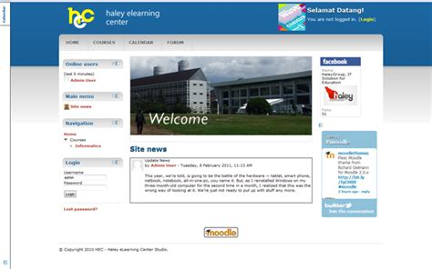 moodle new themes new theme for moodle 2 0 from the haley elearning center