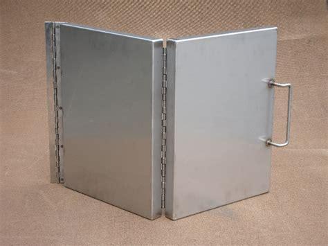 Folding Steel Doors by Stainless Steel Fabrications Gallery 4 Fabrications Ltd