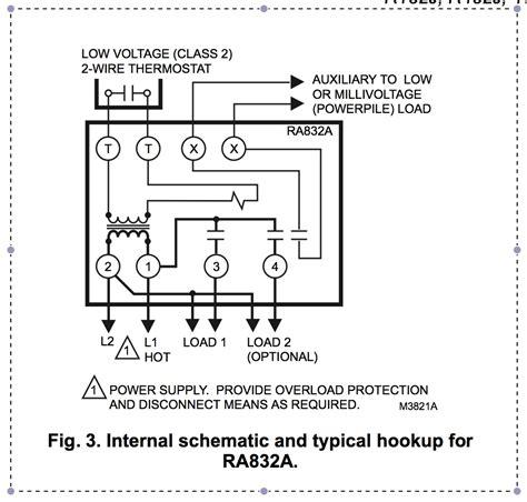 honeywell ra832a wiring diagram new wiring diagram 2018