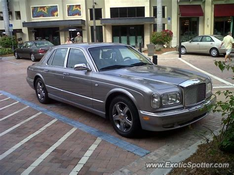 bentley arnage spotted in naples fl florida on 02 25 2012