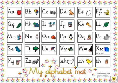 reversible alphabet mat sassoon or cursive versions by