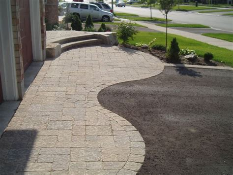 driveway curb appeal driveway design house s curb appeal by installing a