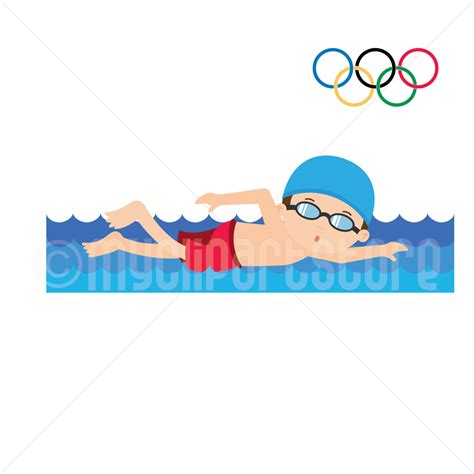 swimmer clip swimming phase clipart clipground