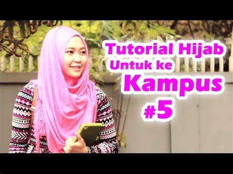 tutorial pashmina untuk undangan tutorial hijab pashmina sifon wajah bulat doovi