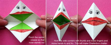 How To Make An Origami Chatterbox - 寘 寘 綷 寘 綷