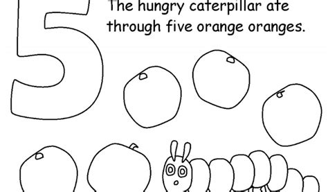 hungry caterpillar coloring pages hungry caterpillar coloring page coloring pages