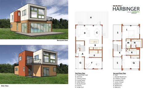 Box House Plans by Shipping Container Homes Floor Plans Container House Design