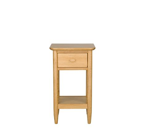 Ercol Side Table Teramo Bedroom Compact Side Table Bedside Cabinets Ercol Furniture