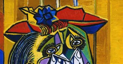 picasso paintings the weeping scm cubismo cubism 立体主义