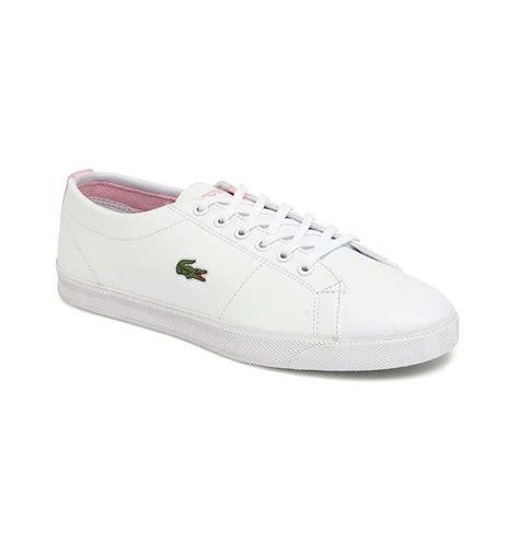 shoes lacoste marcel csf white pink ropa de marca