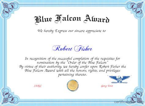 2014 blue falcon stolen valor tournament second round blue falcon certificate template pertamini co