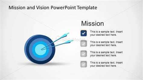 vision statement template free mission powerpoint template slidemodel