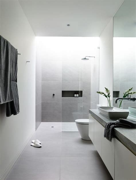 Modern Bathroom Floors - the 25 best gray and white bathroom ideas on pinterest white bathroom cabinets master bath