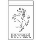 Kostenlose Malvorlagen Mit Logo Ferrari Zum Ausdrucken F&252r Fahrer Und