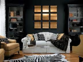 Black Living Room by Unique And Modern Paint Ideas For Living Room Decozilla