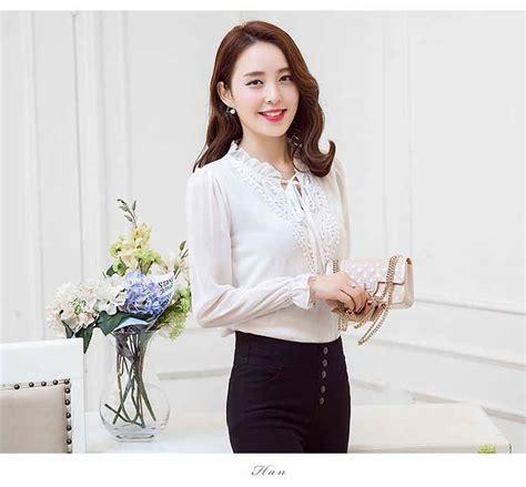 Oke Blouse Korea With Bross beli blouse korea shop shopashop