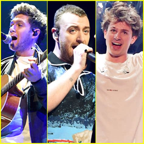charlie puth jingle ball 2017 niall horan sam smith charlie puth rock out at z100