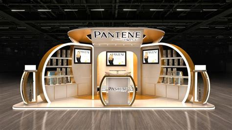 booth design egypt pantene booth egypt on behance kiosk pinterest