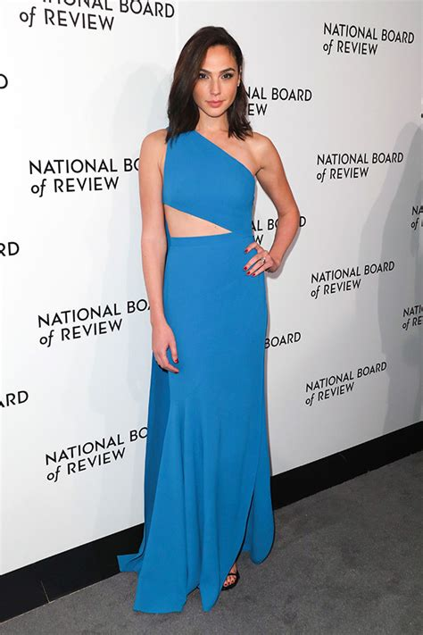 Who Is The Gal In The Blue Dress In The Viagra Commercial | gal gadot s blue dress at the national board of review
