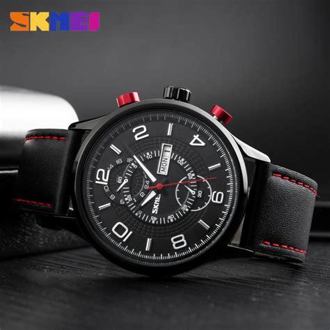 Jam Tangan Skmei Black skmei jam tangan analog pria 1603cl black jakartanotebook