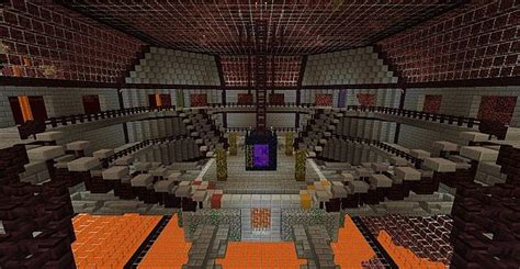 Home Design Diamonds hermitcraft nether hub replica minecraft project