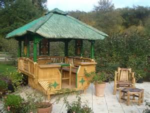 salon de jardin en bambou atlub