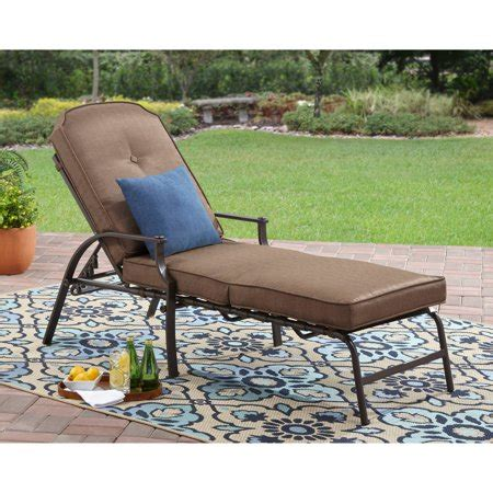 pool lounge chairs walmart mainstays wentworth chaise lounge walmart