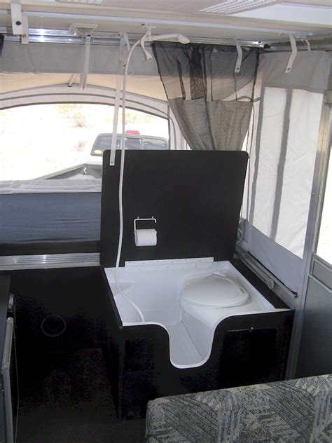 pop up tent trailer with bathroom expedition trailer
