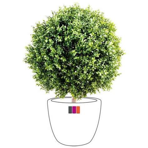 buis artificiel boule 22cm plante ext 233 rieur achat vente fleur artificielle s 233 ch 233 e pvc
