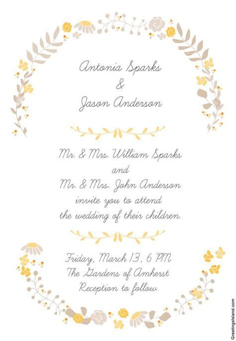 editar imagenes jpg texto 10 invitaciones de boda para imprimir vintage y 161 161 gratis