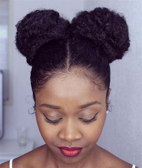 Two Buns Hairstyle Hair Black by 50 Best Eye Catching Hairstyles For Black