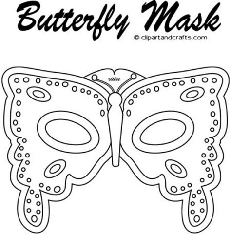 butterfly mask coloring pages free coloring pages of insect masks