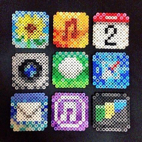 bead it app free app icons perler by perler studio hama