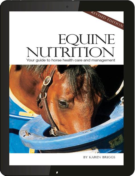 horses revised edition books understanding equine nutrition revised ebook the
