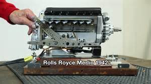 Rolls Royce Merlin Modellmotor Rolls Royce Merlin 1942 On Vimeo